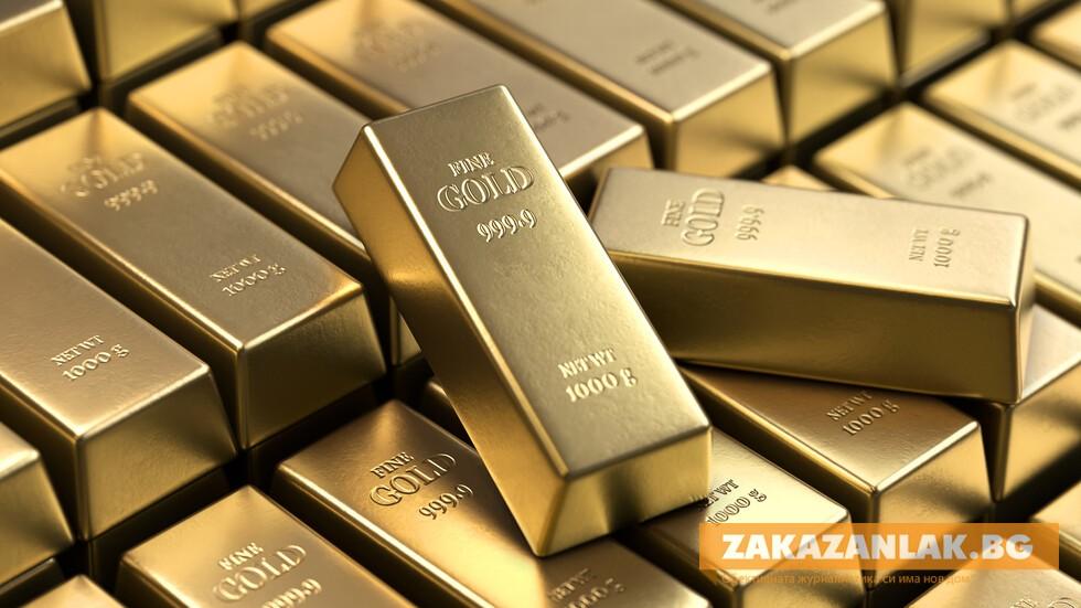 Златото стигна най-високата си стойност