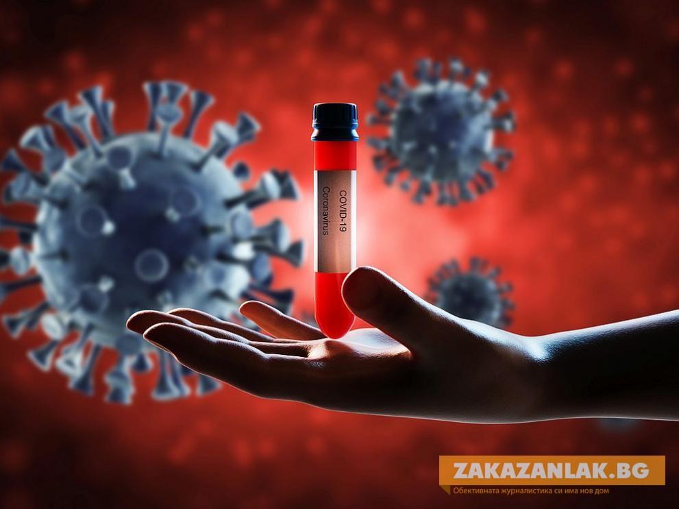 Рекордно нисък брой на заразени с COVID-19 в страната за денонощие