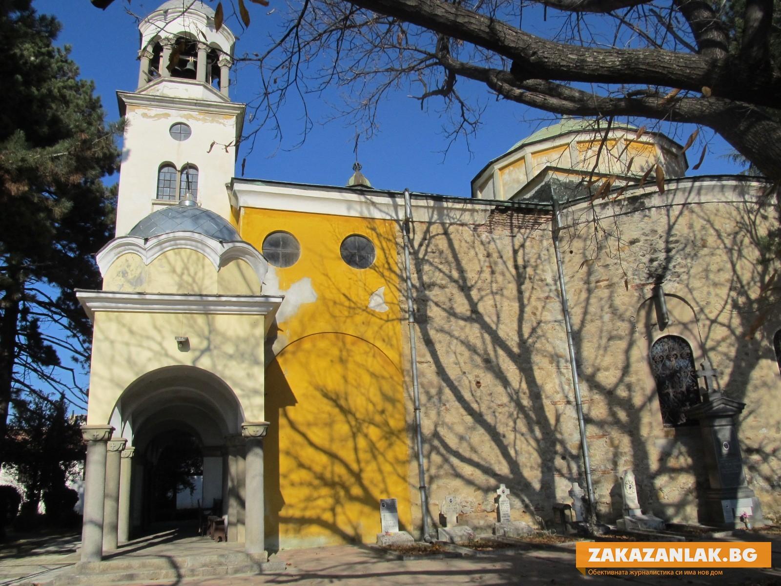 В Деня на християнското семейство празник има Девическият манастир в Казанлък