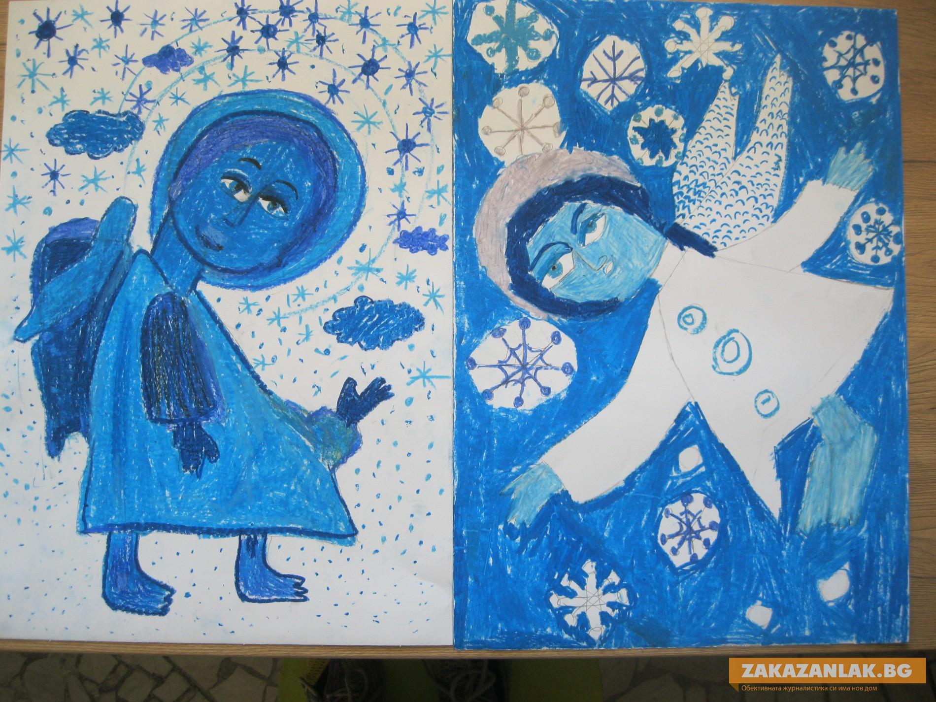 """Коледна изложба """"Ангели в небето"""""""