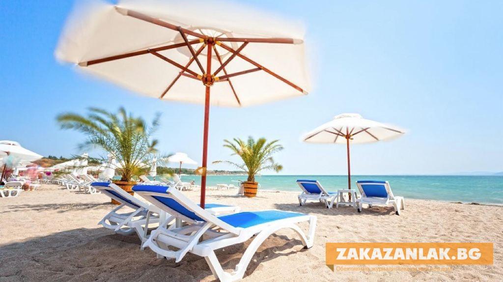Къде ще са безплатни чадърите и шезлонгите по морето