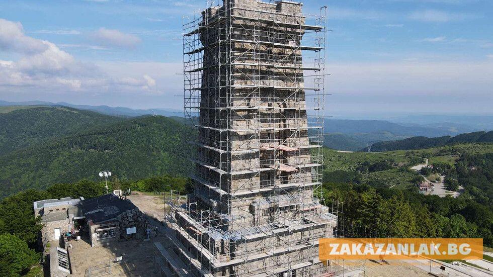 Паметникът на Шипка временно затворен за посещения