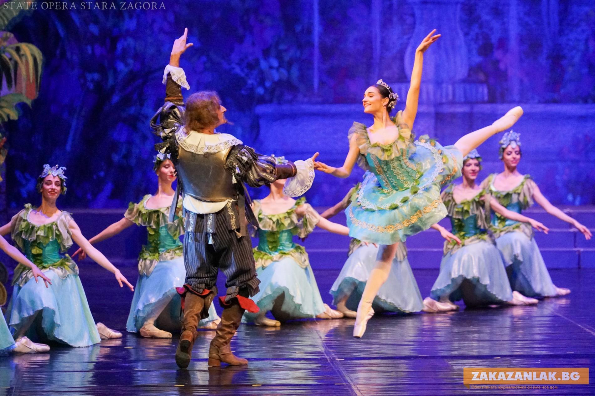"""Балетът """"Дон Кихот"""" на Античния форум"""